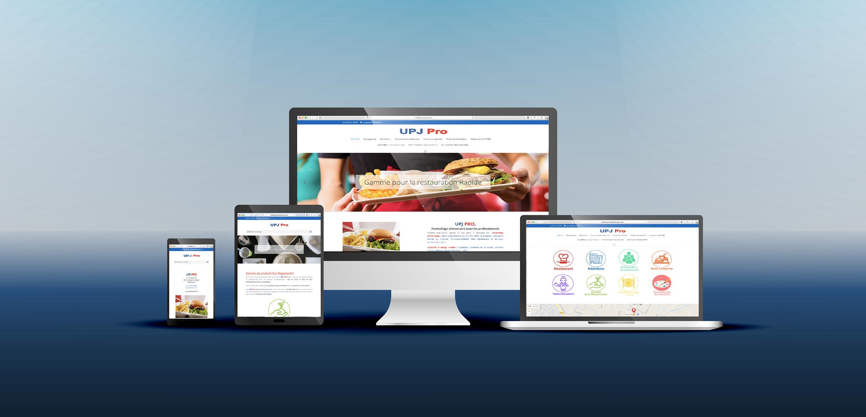 création de site web pour UPJ Pro Hyères